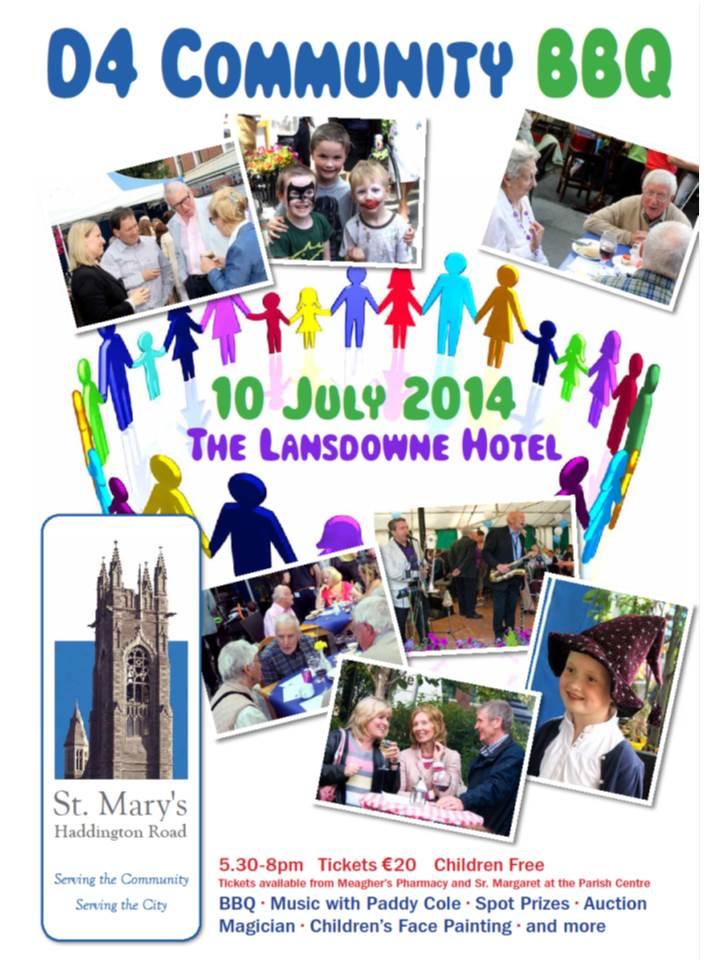 St Mary's - Community - BBQ 2014